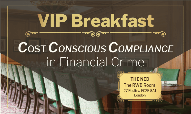 Cost Conscious Compliance – A VIP Breakfast