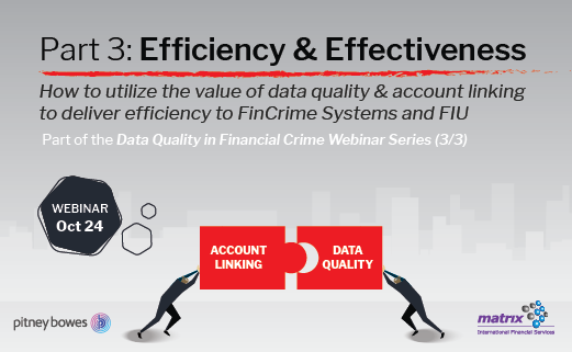 Data Quality Webinar – Part 3: Efficiency & Effectiveness