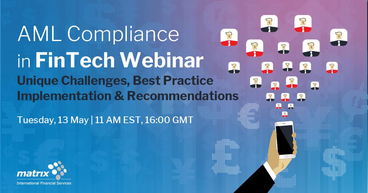 AML Compliance in FinTech Webinar