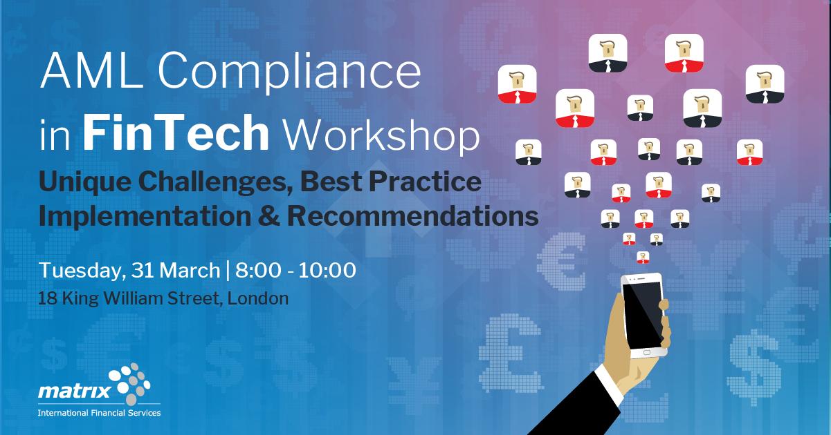 AML Compliance in FinTech Workshop